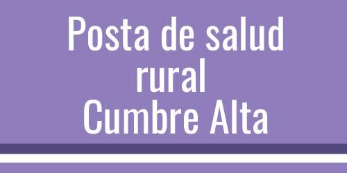 Posta rural Cumbre Alta