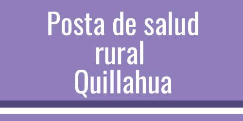 Posta rural Quillahua